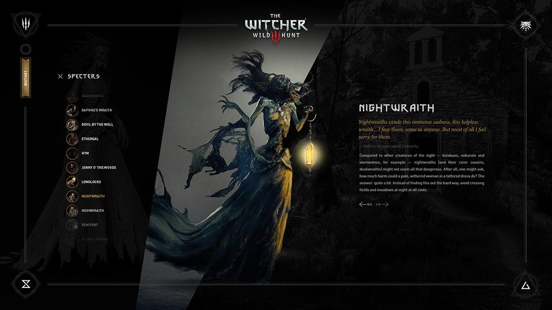 LorisWitcher3-BestiaryScreen02c