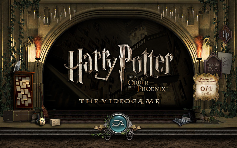 Harry Potter & The Order of The Phoenix: The Videogame