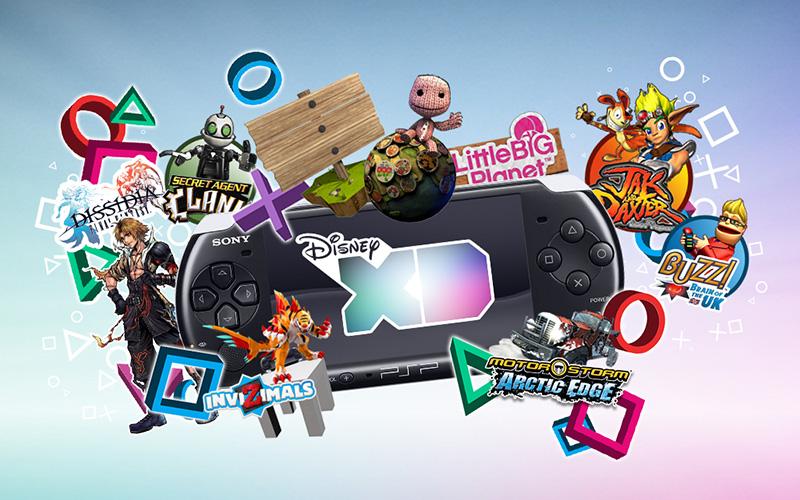 Disney XD / Sony PSP Promotion