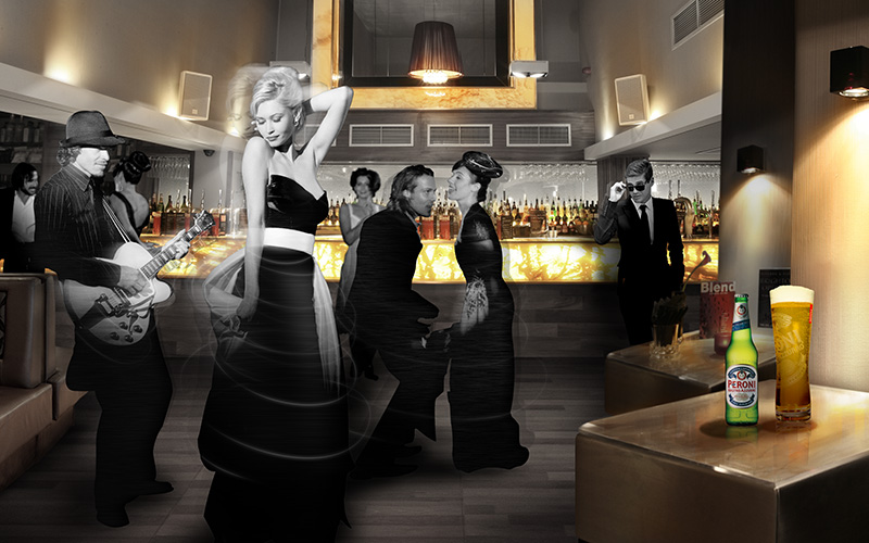 Pitcher & Piano / Peroni Italy: Style Competition